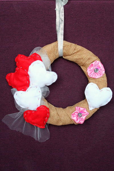 Valnentine's Day Wreath