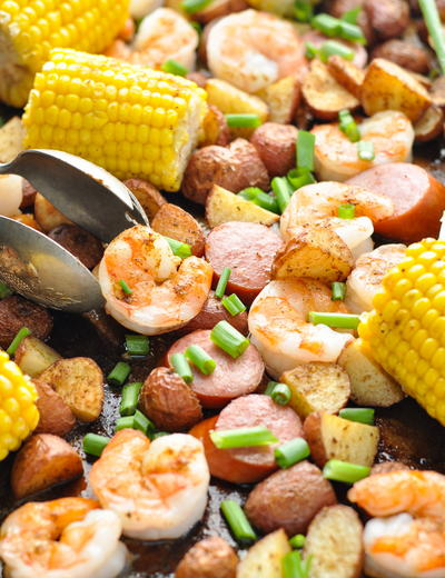 "Sheet Pan ""Low Country Boil"""