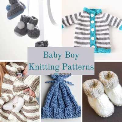 30 Baby Boy Knitting Patterns