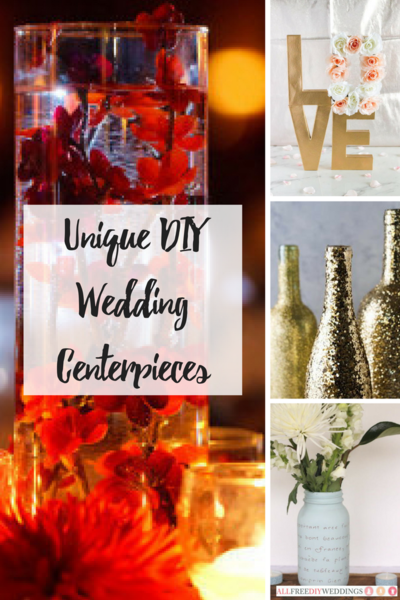 Unique DIY Wedding Centerpieces