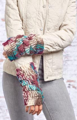 Cozy Dragon Scale Mitts