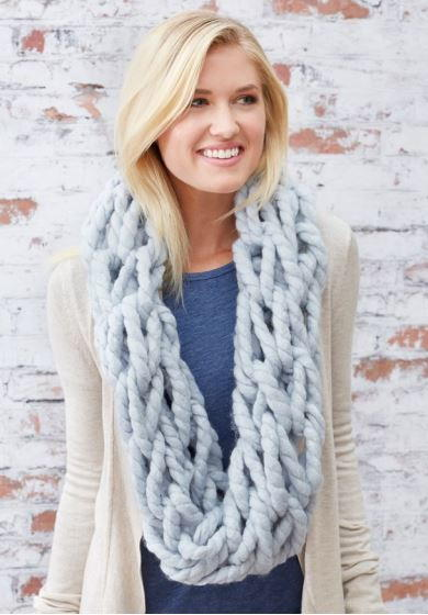 Cozy Arm-Knit Cowl