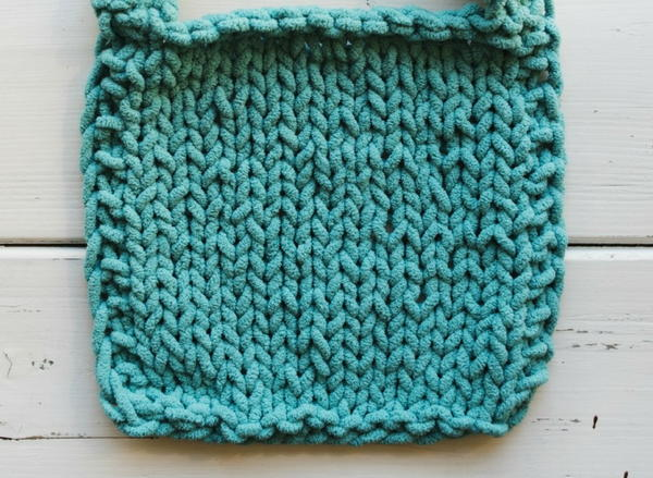 Solution 1: Adding Garter Stitch Edges