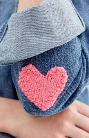 You Have My Heart Knit Applique