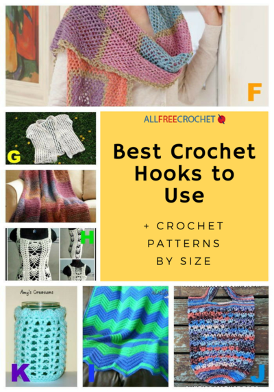 6 Best Crochet Hooks to Use  Crochet Patterns by Size