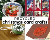 26 Ways To Recycle Christmas Cards