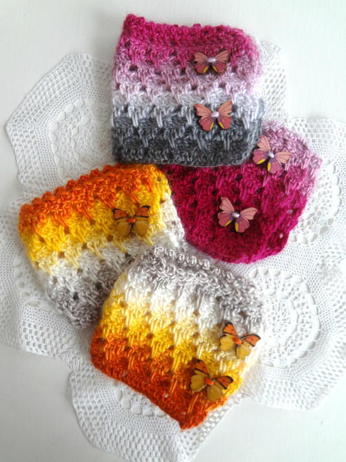 Larksfoot Fingerless Warmers