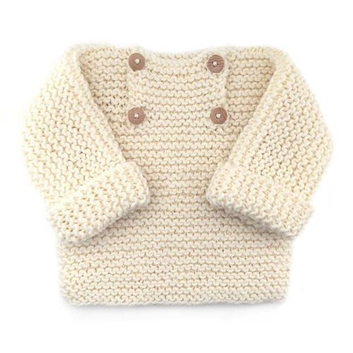 Warm and Cuddly Baby Sweater