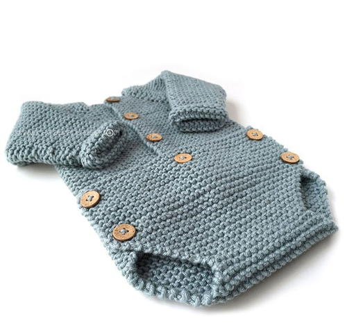 e1499238fded Knitted Baby Onesie