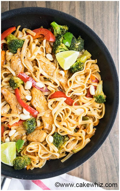 Effortless Chicken Pad Thai Recipe