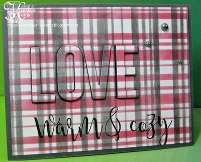 Easy Love Cards with Stencils