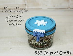 Soup Singles - Gift in a Jar