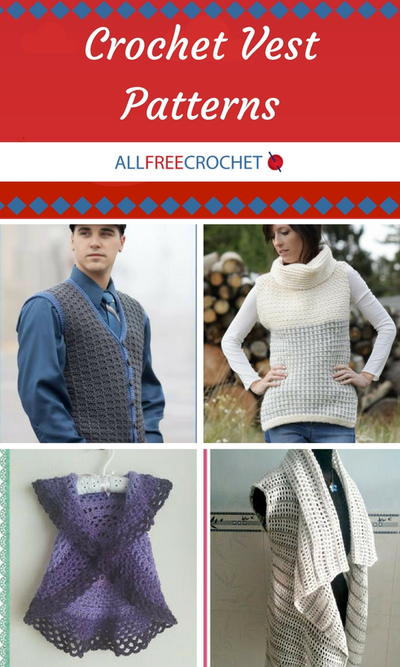 48 Crochet Vest Patterns