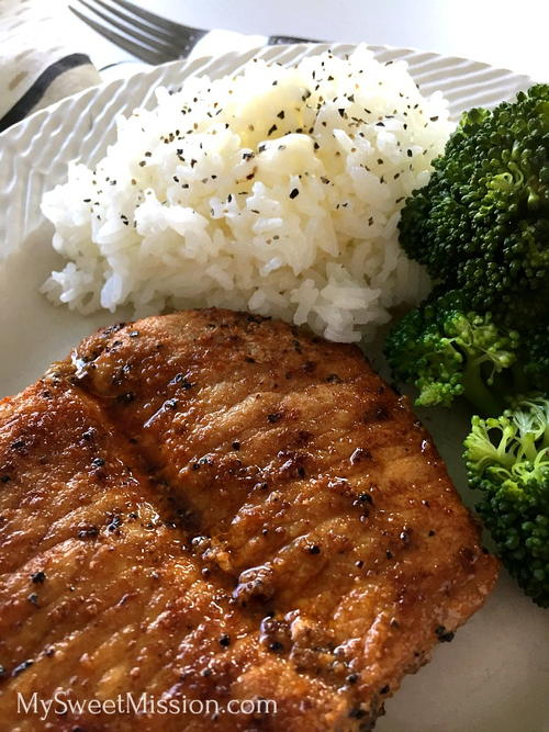 Pan-Seared Butterfly Pork Chops