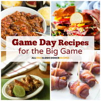 24 Incredible Game Day Food Recipes For The Big Game