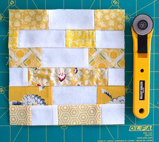 Scrappy Strips Quilt Block Tutorial