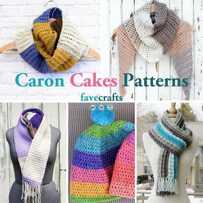 Caron cupcakes crochet hat | FaveCrafts com