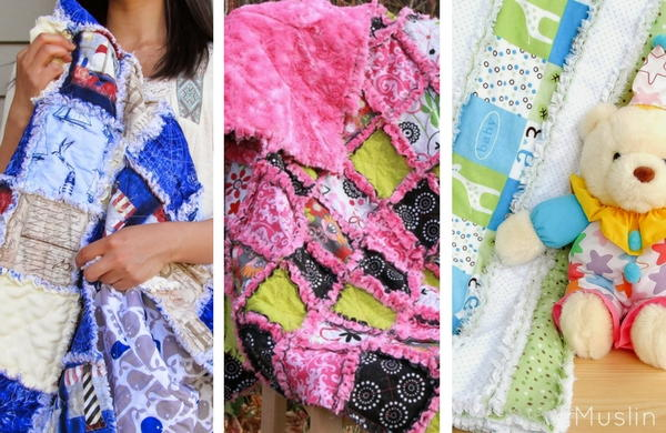 15 Baby Rag Quilt Patterns   FaveQuilts com