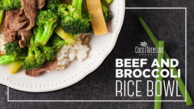 Beef and Broccoli Rice Bowl