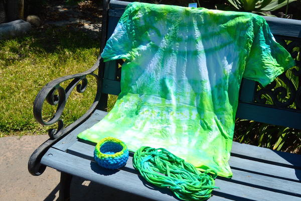 Tie Dye Your Summer Crochet Pattern