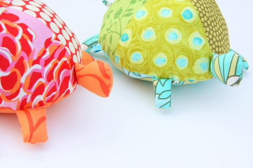 Stuffed Fabric Turtle Pattern