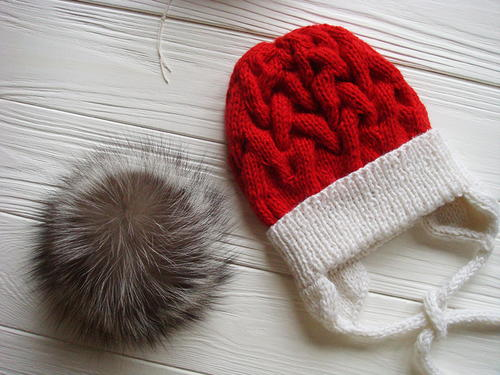 Baby Winter Cable Hat