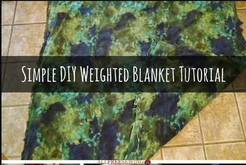 Simple DIY Weighted Blanket Tutorial