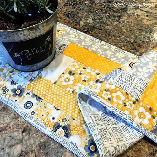 Sunshine on a Cloudy Day Table Runner