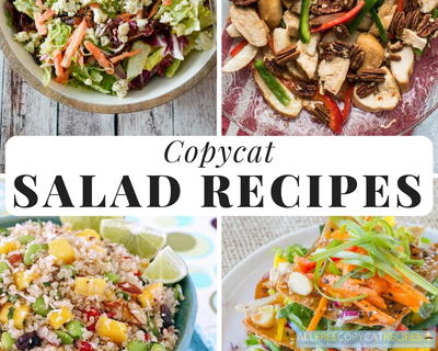 Copycat Salad Recipes