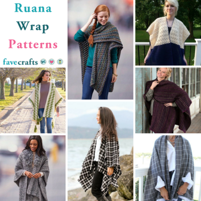 16 Free Poncho Knitting Patterns | FaveCrafts com