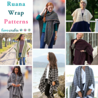 9 Ruana Wrap Patterns
