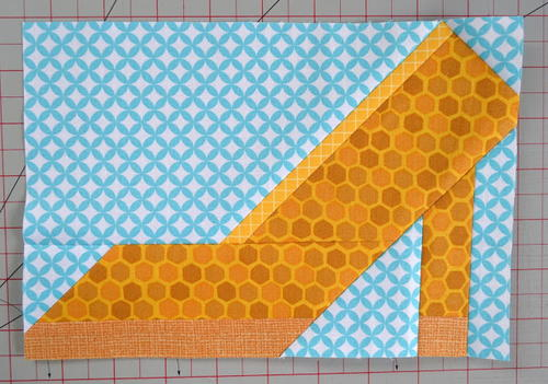 High Heel Quilt Block