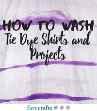 How to Remove Tie Dye from Skin | FaveCrafts com