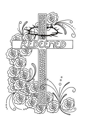 Redeemed Adult Coloring Page
