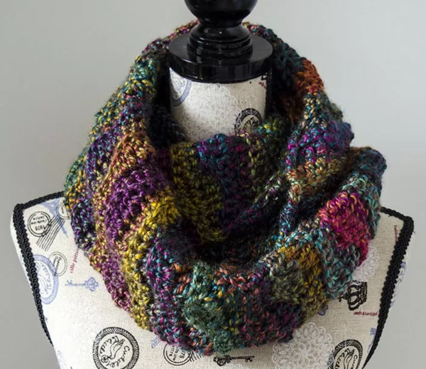Mystic Waves Infinity Scarf