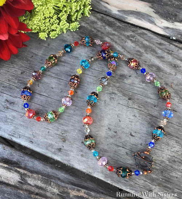 Crystal Kaleidoscope Necklace