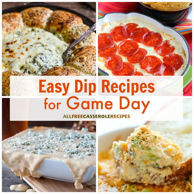 Easy Party Food 16 Easy Dip Recipes For Game Day