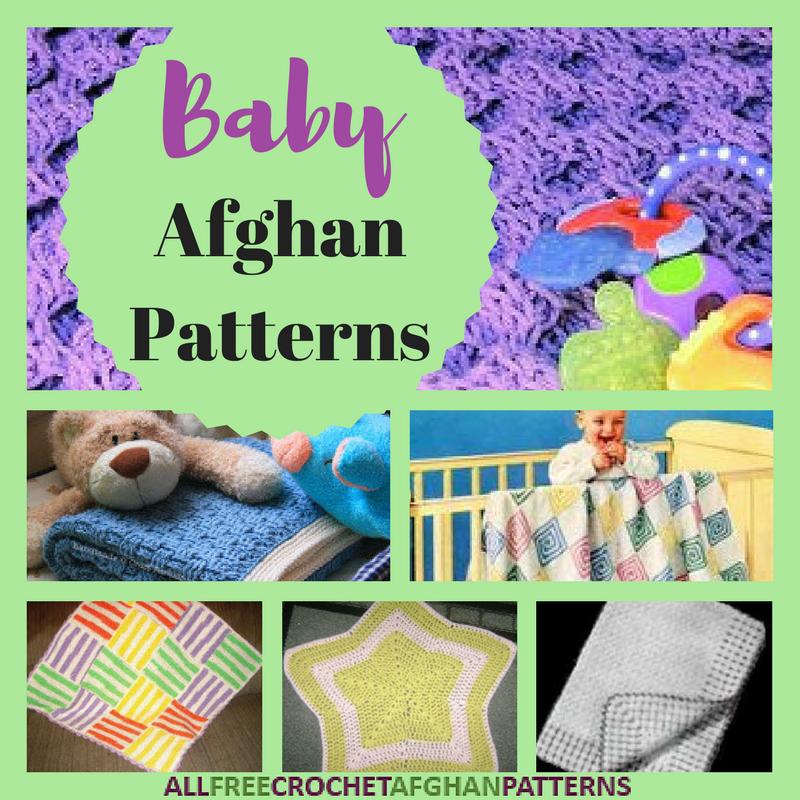 26 Baby Afghan Patterns Allfreecrochetafghanpatterns