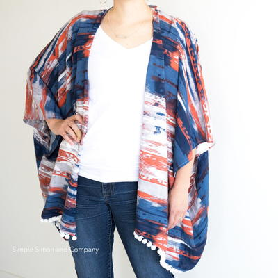 Simple Kimono Cardigan Tutorial