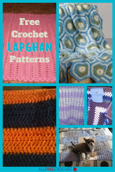 12 Free Crochet Lapghan Patterns Allfreecrochetcom