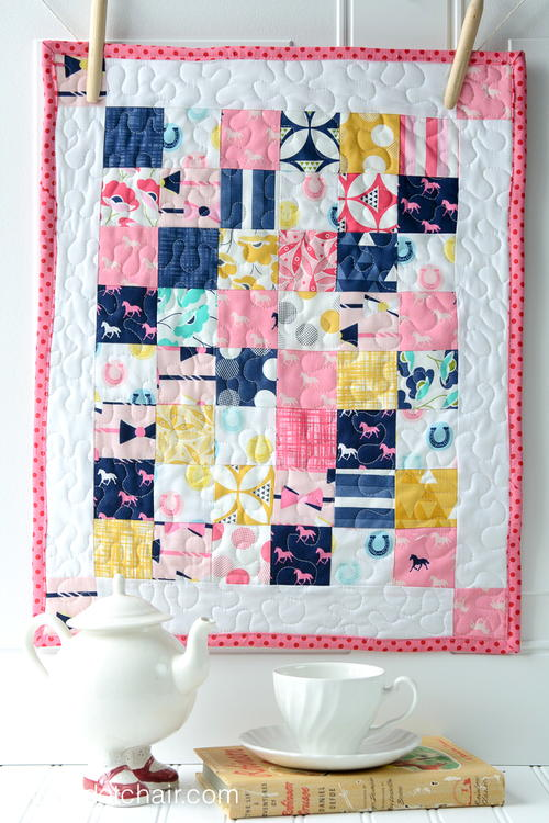 Pretty Pony Doll Quilt Pattern