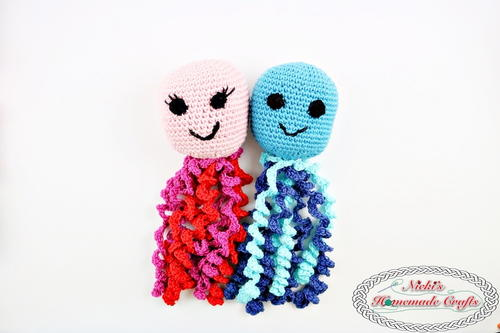 Octopus Amigurumi for Boy and Girl Preemies