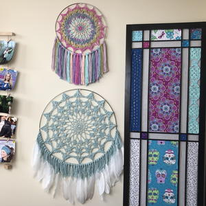Serenity Mandala and Dreamcatcher