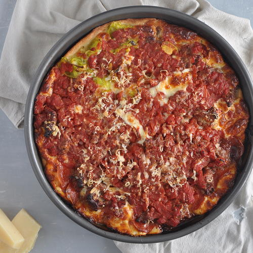 Chicago Deep Dish Meat Lover Pizza