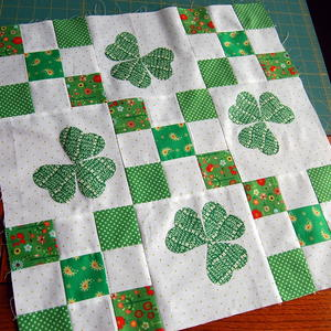 Irish Chain Nine Patch Block Tutorial