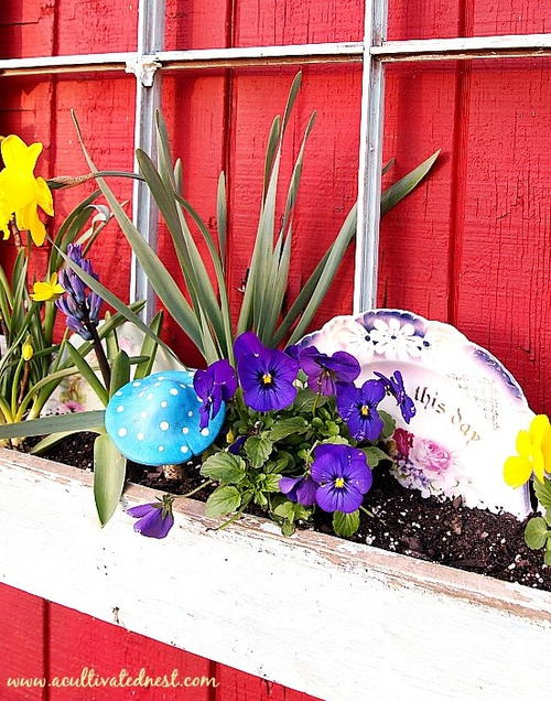 Spring Window Box Tutorial