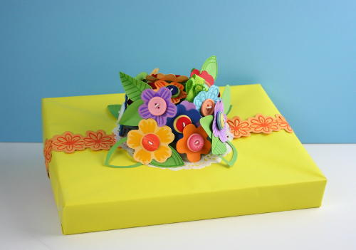 Bouquet Gift Topper
