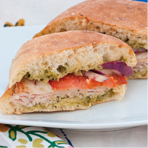 Copycat Costco Turkey Provolone Sandwich