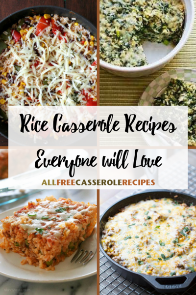 26 Rice Casserole Recipes Everyone will Love