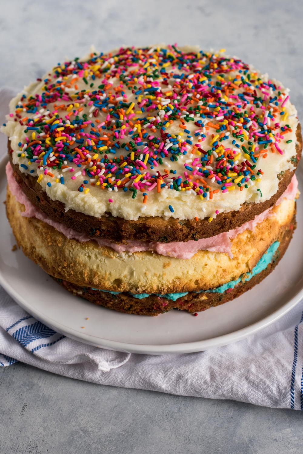 Copycat Cheesecake Factory Funfetti Cheesecake